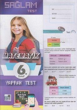 Molekül Yayınları 6. Sınıf Matematik Sağlam Yaprak Test