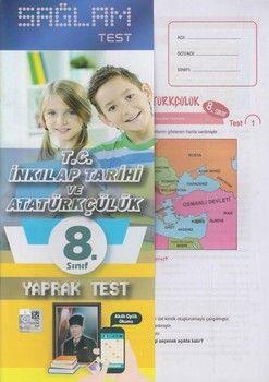 Molekül Yayınları 8. Sınıf T.C. İnkılap Tarihi ve Atatürkçülük Sağlam Yaprak Test
