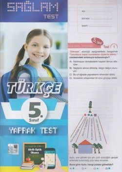 Molekül Yayınları 5. Sınıf Türkçe Sağlam Yaprak Test