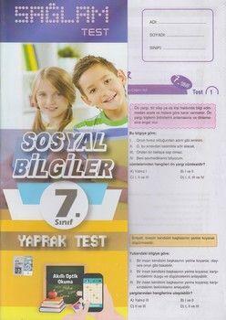 Molekül Yayınları 7. Sınıf Sosyal Bilgiler Sağlam Yaprak Test