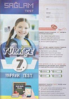 Molekül Yayınları 7. Sınıf Türkçe Sağlam Yaprak Test