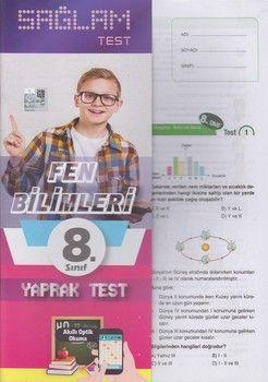 Molekül Yayınları 8. Sınıf Fen Bilimleri Sağlam Yaprak Test