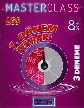 Molekül Yayınları 8. Sınıf LGS 1. Dönem Tekrarı Sağlam Master Class 3 lü Deneme