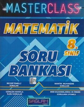Molekül Yayınları 8. Sınıf Matematik Masterclass Sağlam Test Soru Bankası