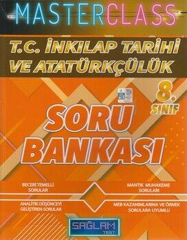 Molekül Yayınları 8. Sınıf T.C. İnkılap Tarihi ve Atatürkçülük Masterclass Sağlam Test Soru Bankası