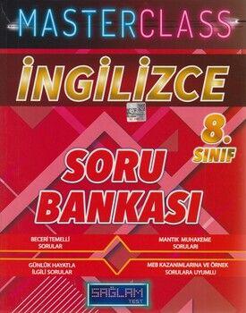 Molekül Yayınları 8. Sınıf İngilizce Masterclass Sağlam Test Soru Bankası