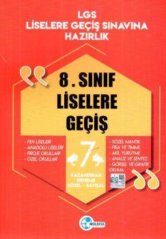 Molekül Yayınları 8. Sınıf LGS Sözel Sayısal 7 Kazandıran Deneme