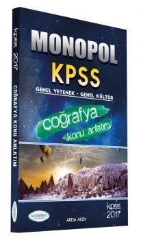 Monopol Yayınları KPSS 2017 Coğrafya Konu Anlatımlı
