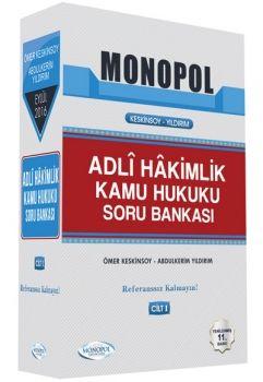 Monopol Yayınları Adli Hakimlik Kamu Hukuku Soru Bankası