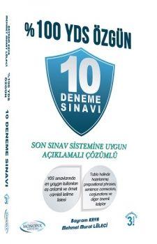 Monopol Yayınları %100 YDS Özgün 10 Deneme Sınavı