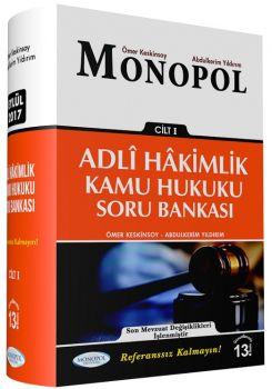 Monopol Yayınları  Adli Yargı Hakimliği Kamu Hukuku Soru Bankası