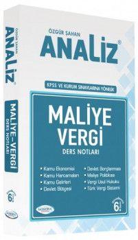 Monopol Yayınları KPSS ve Kurum Sınavlarına Yönelik Maliye Vergi Ders Notları