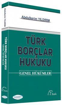 Monopol Yayınları Türk Borçlar Hukuku Genel Hükümler