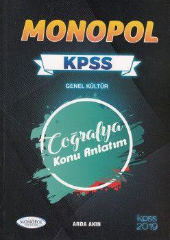 Monopol Yayınları KPSS Genel Kültür Coğrafya Konu Anlatım