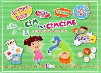 Mor Elma Yayıncılık Cim And Cimcime English Preschool Activity Book