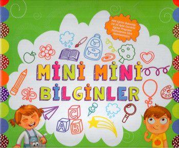 Mor Elma Yayıncılık Mini Mini Bilginler Okul Öncesi Eğitim Seti