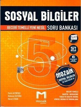 Mozaik Yayınları 5. Sınıf Sosyal Bilgiler Soru Bankası