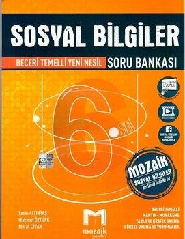 Mozaik Yayınları 6. Sınıf Sosyal Bilgiler Soru Bankası