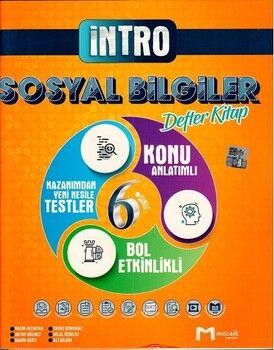 Mozaik Yayınları 6. Sınıf Sosyal Bilgiler İntro Defter Kitap