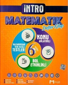 Mozaik Yayınları 6. Sınıf Matematik İntro Defter Kitap