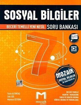 Mozaik Yayınları 7. Sınıf Sosyal Bilgiler Soru Bankası