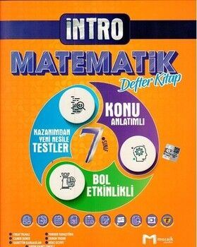 Mozaik Yayınları 7. Sınıf Matematik İntro Defter Kitap