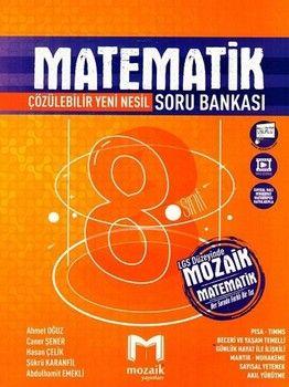 Mozaik Yayınları 8. Sınıf Matematik Soru Bankası
