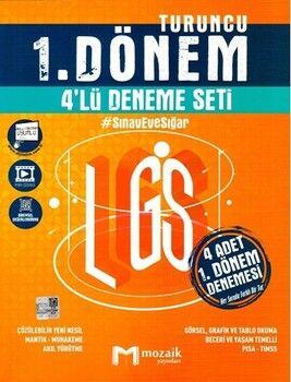 Mozaik Yayınları 8. Sınıf LGS 1. Dönem 4 lü Deneme