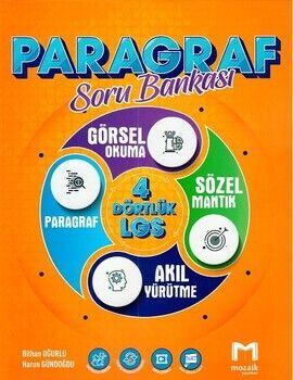 Mozaik Yayınları 8. Sınıf LGS Paragraf Mozaik Soru Bankası