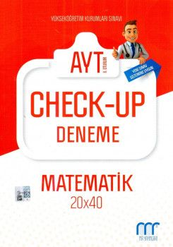 MR Yayınları YKS 2. Oturum AYT Check Up Matematik Deneme 20x40