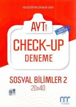 MR Yayınları YKS 2. Oturum AYT Sosyal Bilimler 2 Check Up Deneme 20x40