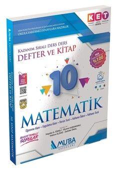 Muba Yayınları 10. Sınıf Matematik KET Serisi Defter ve Kitap