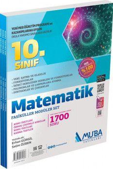 Muba Yayınları 10. Sınıf Matematik Fasiküller Modüler Set