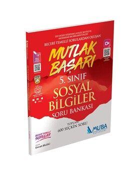 Muba Yayınları 5. Sınıf Sosyal Bilgiler Mutlak Başarı Soru Bankası