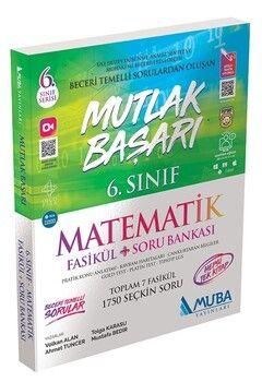 Muba Yayınları 6. Sınıf Matematik Fasikül + Soru Bankası