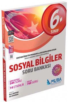 Muba Yayınları 6. Sınıf Sosyal Bilgiler Soru Bankası