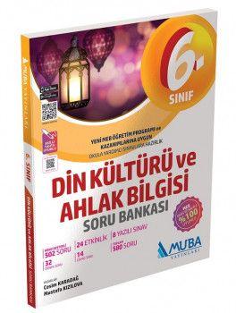 Muba Yayınları 6. Sınıf Din Kültürü ve Ahlak Bilgisi Soru Bankası