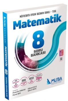 Muba Yayınları 8. Sınıf Matematik Soru Bankası