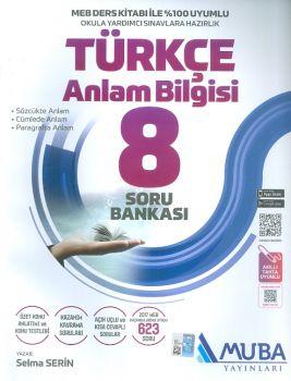 Muba Yayınları 8. Sınıf Türkçe Anlam Bilgisi Soru Bankası