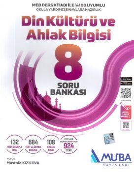 Muba Yayınları 8. Sınıf Din Kültürü ve Ahlak Bilgisi Soru Bankası