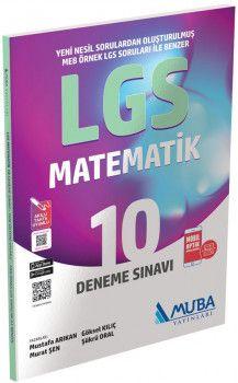Muba Yayınları 8. Sınıf LGS Matematik 10 Deneme Sınavı