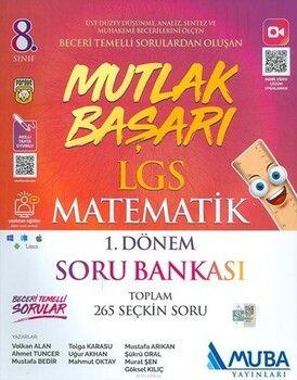 Muba Yayınları 8. Sınıf LGS Matematik 1. Dönem Soru Bankası