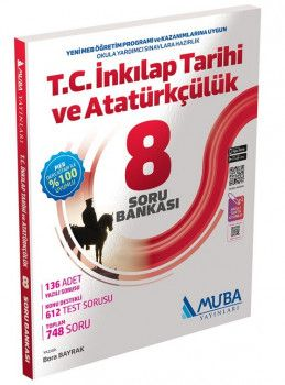 Muba Yayınları 8. Sınıf T.C İnkılap Tarihi ve Atatürkçülük Soru Bankası