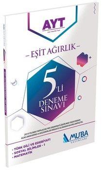 Muba Yayınları AYT Eşit Ağırlık 5li Deneme Sınavı
