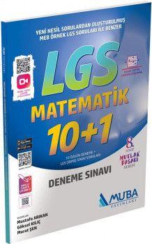 Muba Yayınları LGS Matematik 10+1 Deneme Sınavı