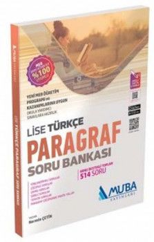 Muba Yayınları Lise Türkçe Paragraf Soru Bankası