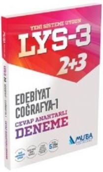 Muba Yayınları LYS 3 Edebiyat Coğrafya 1 Cevap Anahtarlı Deneme