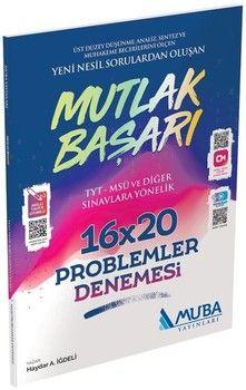 Muba Yayınları Problemler Mutlak Başarı 16x20 Denemesi