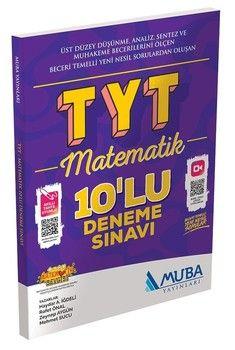Muba Yayınları TYT Matematik 10 lu Deneme Sınavı