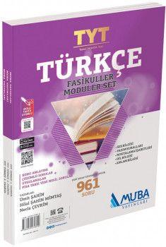 Muba Yayınları TYT Türkçe Fasikülleri Modüler Set Soru